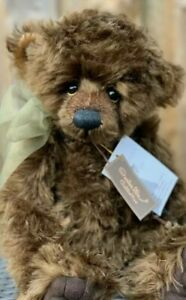 CHARLIE BEARS - FIGGY PUDDING - ISABELLE LEE Collection 2011 - Retired with tags