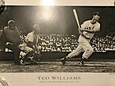 Ted Williams Boston Red Sox Triple Crown Lithograph 7653 of 12000