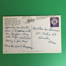 Prickly Pear Cactus Postmark Phoenix Arizona 1969 Posted Postcard