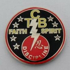 Elvis Presley 'Taking Care of Business' pin badge.TCB, Gracelands
