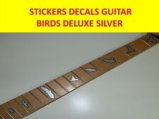 STICKERS INLAY FRET MARKERS SILVER DELUXE VISIT OUR STORE WITH MANY MORE MODELS