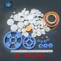 80pcs   gear package kits gearbox plastic motor gear kits robot parts