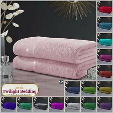 ULTRA SOFT ABINGTON TOWEL Egyptian Cotton Hand Bath Sheet Bathroom Towels 2pcs