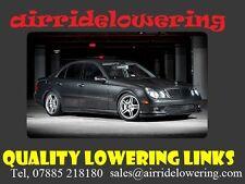 Mercedes E Class w211  Lowering Links, Full kit £79.00 Shipped Worldwide Free*