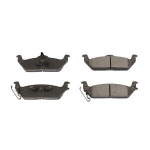 Disc Brake Pad Set-Rear PM18 Posi-Mold Semi-Metallic Brake Pads Rear Power Stop