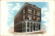 Biddeford ME Journal Building c1920 Postcard
