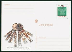 MayfairStamps Moldova National Olympic Committee Card wwp80381