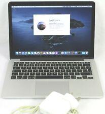 "2015 Apple MacBook Pro A1502 Retina 13.3"" Core i5 2.9Ghz  8GB RAM 256GB SSD"