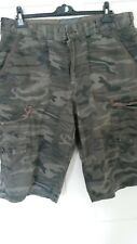 MEN'S RED HERRING CAMOUFLAGE SHORTS SIZE 38