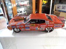 ONE OF KIND Custom 1970 Chevrolet Chevelle Pro Street SS 454 1:18 Diecast Car