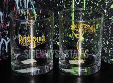 DISNEY ANNUAL PASSHOLDER PLUTO GLASS SET Commemorative Collection barware rare