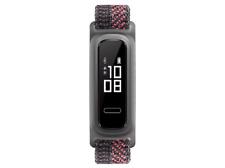 Pulsera-Huawei Band 4E, 210 mm, TruSleep 2.0, GPS, Resist Agua 5ATM, Rosa/Negro