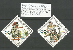 Niger 1990 - PA n° 366-367 - Jeux Olympiques - Neufs MNH ★★  YT 10€