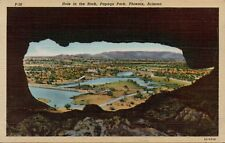 VTG Hole in the Rock Papago Park Phoenix Arizona AZ Postcard