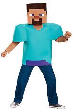 Minecraft Steve Classic Child Costume 7-8