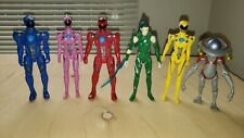 Mighty Morphin POWER RANGERS Movie Figure LOT Rita Red Blue Yellow Pink Ranger +