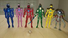 Mighty Morphin POWER RANGERS Movie Figure LOT Rita Red Blue Yellow Pink Ranger +