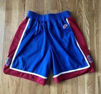 1995 Kansas Jayhawks PAUL PIERCE Sewn Nike Shorts L