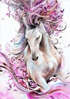 DIY Diamond Painting 5D Part Drill Horse Embroidery Cross Kits Craft Home Decor