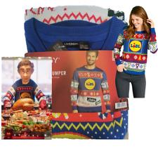 LIDL Christmas Jumper Sweatshirt Top Xmas Mens Womens Unisex Ladies Cardigan