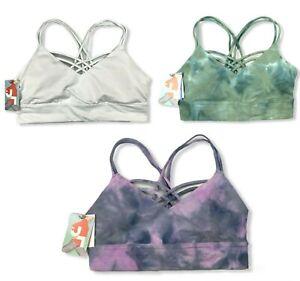 Women's Pullover Strappy Bra Crisscross Back -JoyLab -Various Sizes/Colors -S553