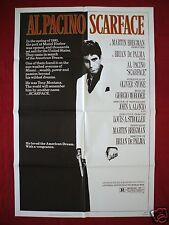 SCARFACE * 1983 ORIGINAL MOVIE POSTER 1SH AUTHENTIC TONY MONTANA AL PACINO NM-M