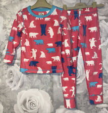 Girls Age 2-3 Years - Hatley Pyjamas - Bears - Fleece