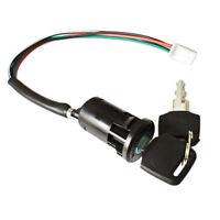 Ignition Switch For Quad , Pit Bike, Lock 2 Keys, 4 Wire, For Honda Suzuki