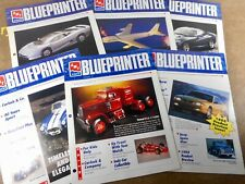 AMT BLUEPRINTER MAGAZINE COMPLETE YEAR 1993 VOLUME 7 -  ISSUE 1/ 6
