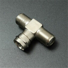 Splitter Combiner TV Coaxial Connectors Cable RF Adapters Joiners 2-Way F-Type