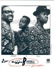 1990 1990s Hip Hop Band Groove B Chill Daryl Mitchell Gene Allen Press Photo