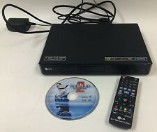 LG BP350 Blu-Ray Disk / DVD Player + WiFi Streaming With Remote