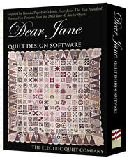 Dear Jane Quilt Design Software by the Electric Quilt Company
