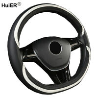 D Shape Car Steering Wheel Cover For VW Golf 6 7 For Nissan Rouge MAXIMA Leaf