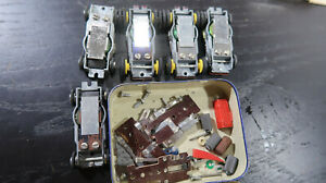 Aurora Vib Vibrator HO Lot of 5 plus Motors Engines Chassis
