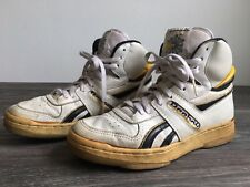REEBOK HIGH TOPS Shoes Sneakers Vtg 80's Classic Basketball White US Men's 7.5