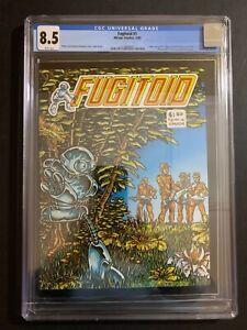 FUGITOID #1 (W/P) (2/85) MIRAGE STUDIOS CGC 8.5 (NEW CASE!!) TMNT
