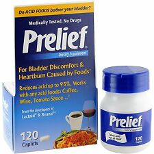 Prelief Acid Reducer Dietary Supplement Tablets, 120 Count