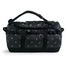 The North Face - Base Camp Duffel Small - TNF Black Tossed Logo Print
