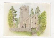 Church Of St John The Evangelist Elkstone Gloucestershire Postcard 803a