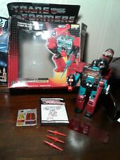 Transformers Vintage G1 Perceptor 100% Complete in Box Original