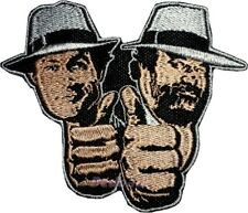 Double Trouble Logo Embroidered Patch Bud Spencer & Terence Hill Film 2 Fists