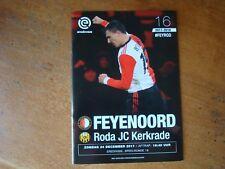 Feyenoord V HERACLES Almelo & RODA JC déc 2017