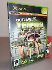 Outlaw Tennis Xbox Pal Italian version like new pari al nuovo