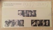 GB 2007 Presentation Pack #403 Diamond Wedding Anni Inc Mini Sheet..MNH