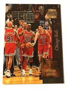 1996 Topps Stadium Club Golden Moments Chicago Bulls #GM3 Michael Jordan