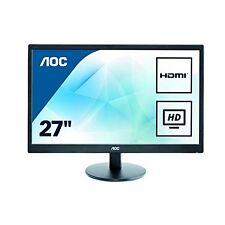 AOC E2775SJ 27 Full HD TN Black Flat Computer Monitor
