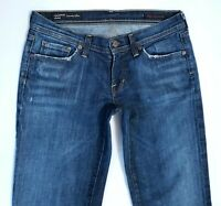 Citizens of Humanity Women's INGRID FLARE Low Rise Faded Dark Jeans 30 x 30
