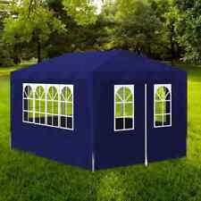 vidaXL Partytent 3x4 m Blauw Party Feest Tent Feesttent Tuintent Tuinpaviljoen
