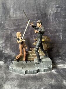 buffy the vampire slayer Custom Becoming Pt 2 Buffy & Angel Action Figure Set.
